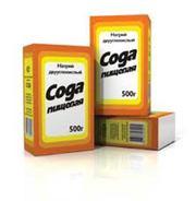 Сода пищевая 500 гр(Пищевая добавка Е 500)